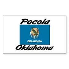 Pocola Oklahoma Rectangle Decal