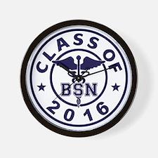 Class Of 2016 BSN Wall Clock