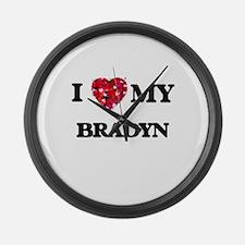 I love my Bradyn Large Wall Clock
