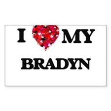 I love my Bradyn Decal