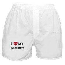 I love my Braeden Boxer Shorts