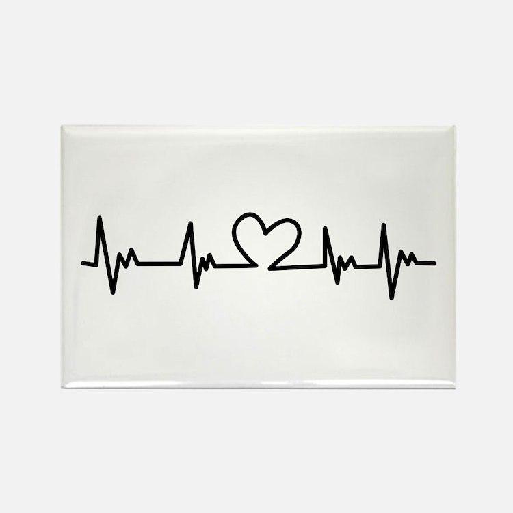 Heart Beat Magnets