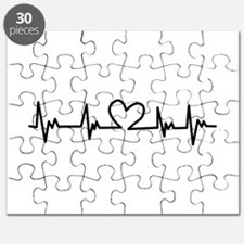 Heart Beat Puzzle