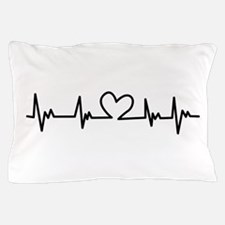 Heart Beat Pillow Case