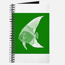 Dark Green Tropical Fish Journal