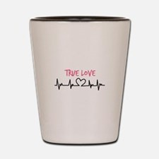 True Love Shot Glass