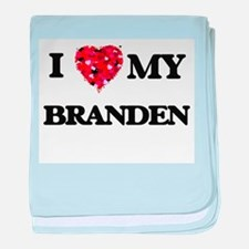 I love my Branden baby blanket