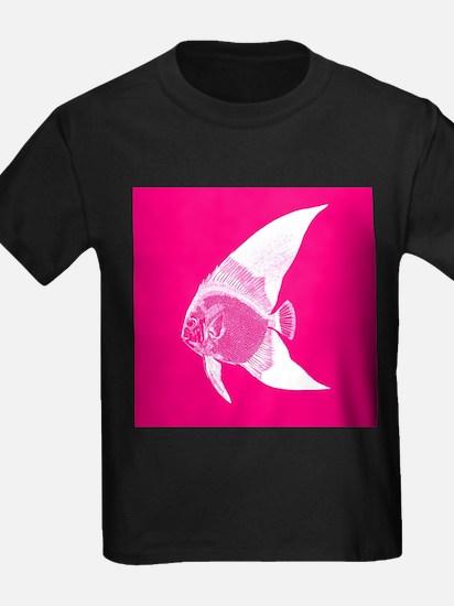 Hot Pink Tropical Fish T-Shirt
