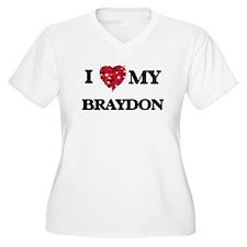 I love my Braydon Plus Size T-Shirt