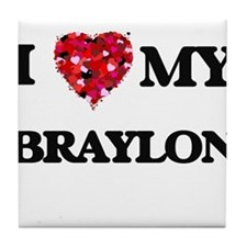 I love my Braylon Tile Coaster