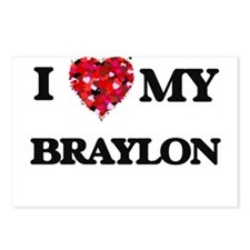 I love my Braylon Postcards (Package of 8)