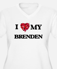 I love my Brenden Plus Size T-Shirt