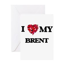 I love my Brent Greeting Cards