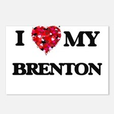 I love my Brenton Postcards (Package of 8)