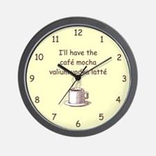CAFE MOCHA Wall Clock
