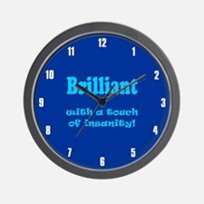 BRILLIANT WITH A TOUCH Wall Clock