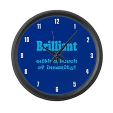 BRILLIANT WITH A TOUCH Large Wall Clock
