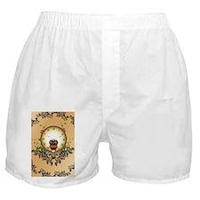 Steampunk, cute owl Boxer Shorts