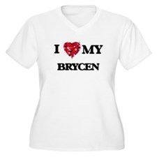 I love my Brycen Plus Size T-Shirt