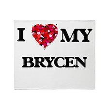 I love my Brycen Throw Blanket