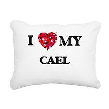 I love my Cael Rectangular Canvas Pillow