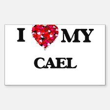 I love my Cael Decal