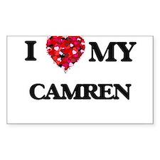 I love my Camren Decal
