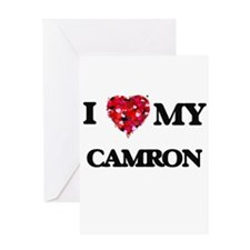 I love my Camron Greeting Cards