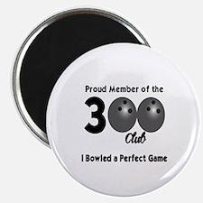 BOWLING - 300 CLUB Magnet