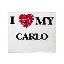I love my Carlo Throw Blanket