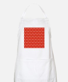 Red and White Polka Dots Apron