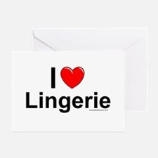 Lingerie Card Greeting Cards