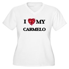 I love my Carmelo Plus Size T-Shirt