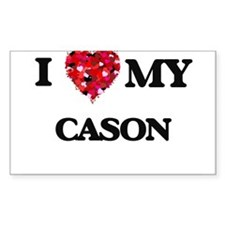 I love my Cason Decal