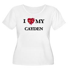 I love my Cayden Plus Size T-Shirt