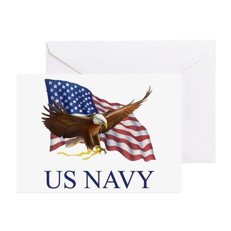 US NAVY Greeting Cards (Pk of 20)