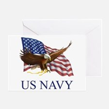 US NAVY Greeting Card