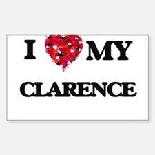 I love my Clarence Decal