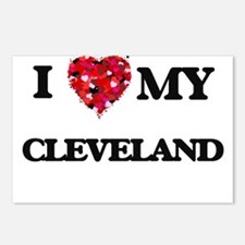 I love my Cleveland Postcards (Package of 8)
