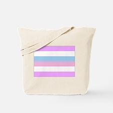 Intersex Bigender Flag Tote Bag