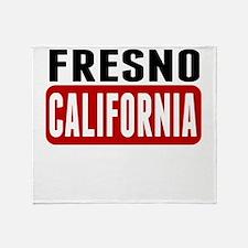 Fresno California Throw Blanket