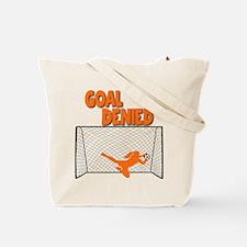 GOAL DENIED (both sides) Tote Bag
