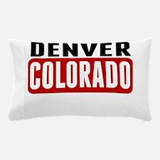 Denver Colorado Pillow Case
