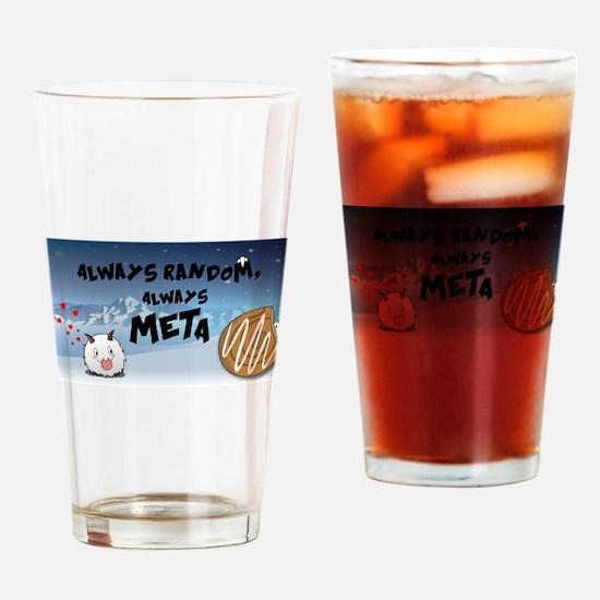 ARAMbling Poro Banner Drinking Glass