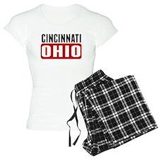 Cincinnati Ohio Pajamas