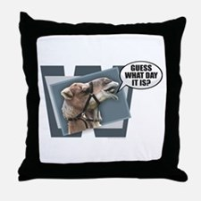 Unique Hump day camel Throw Pillow
