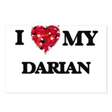 I love my Darian Postcards (Package of 8)
