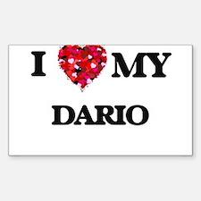 I love my Dario Decal