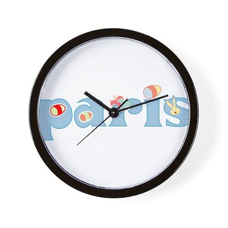 Paris Easter 02 Wall Clock