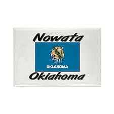 Nowata Oklahoma Rectangle Magnet